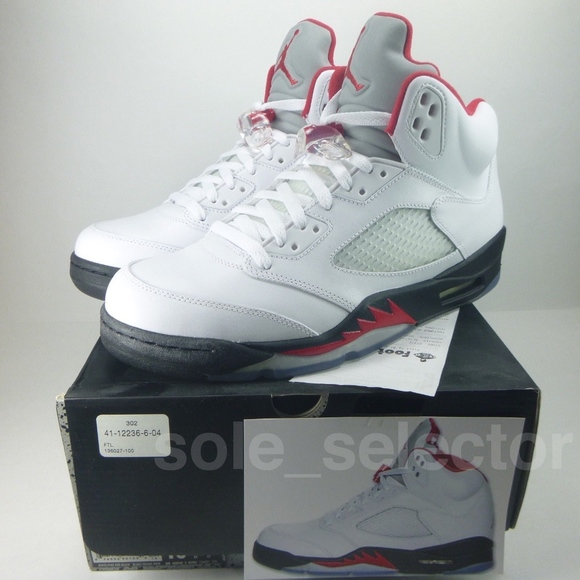 5b4537bbd5d Nike Air Jordan 5 Retro OG FIRE RED w Receipt